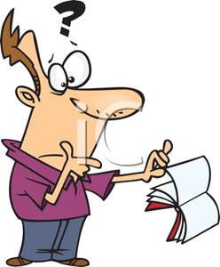 Puzzled clipart #11
