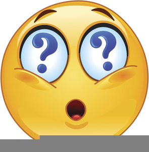 Free Clipart Puzzled Face.