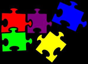 Clip art puzzles.