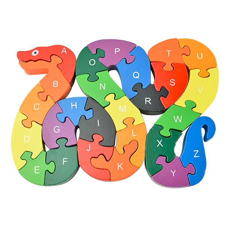 Popular Wood Snake Puzzle.