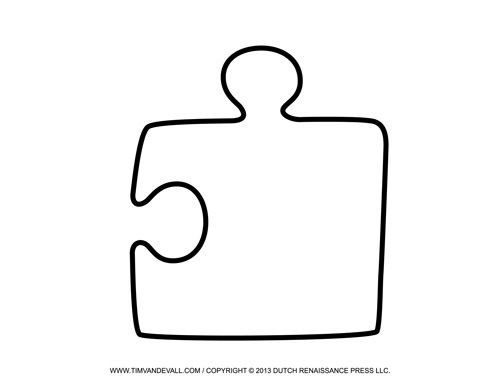 Puzzling board clipart #20