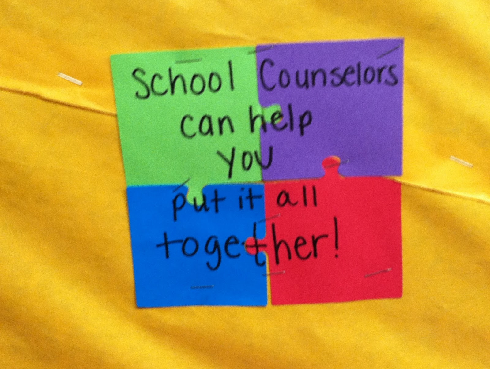 School Counselor Blog: Feeling PUZZLED? School Counselors Can Help.