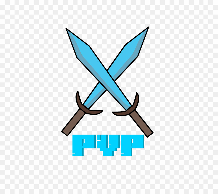 Logo Minecraft Pvp PNG Video Games Clipart download.