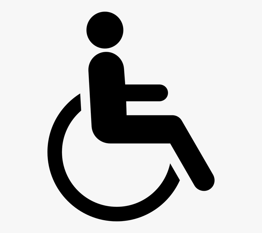Person With Disability Logo , Free Transparent Clipart.