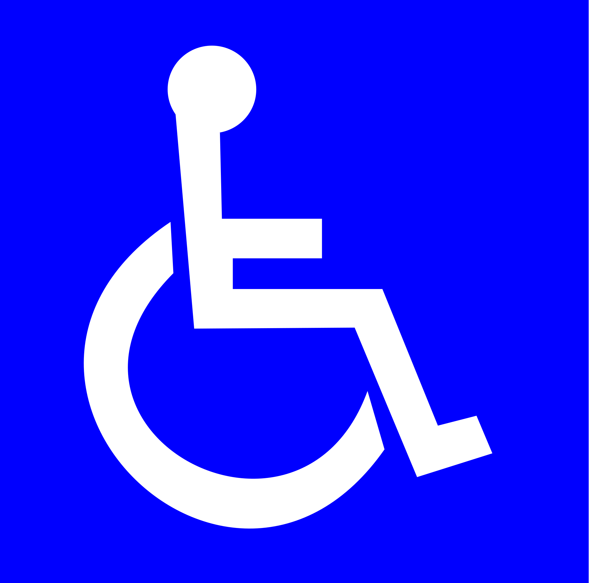 International Symbol of Access.