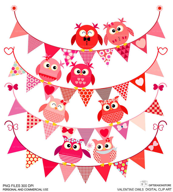 Valentine Party Clipart.