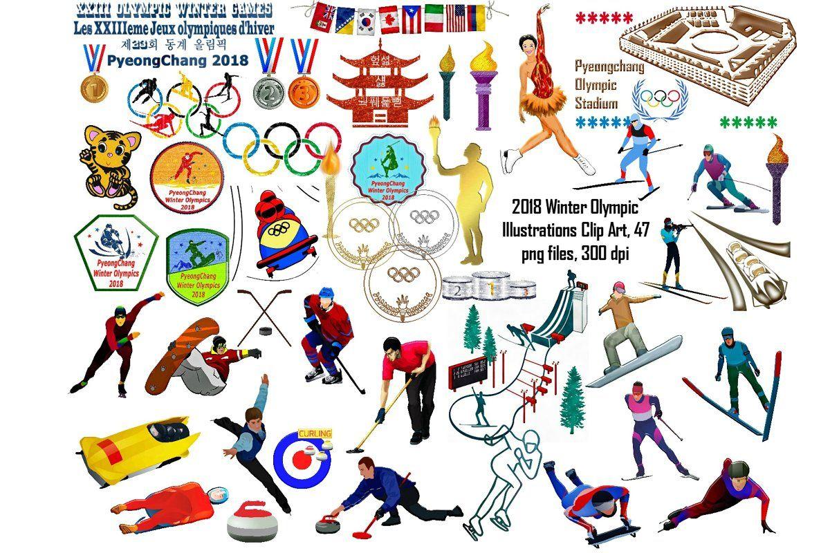 Winter Olympics Clip Art.