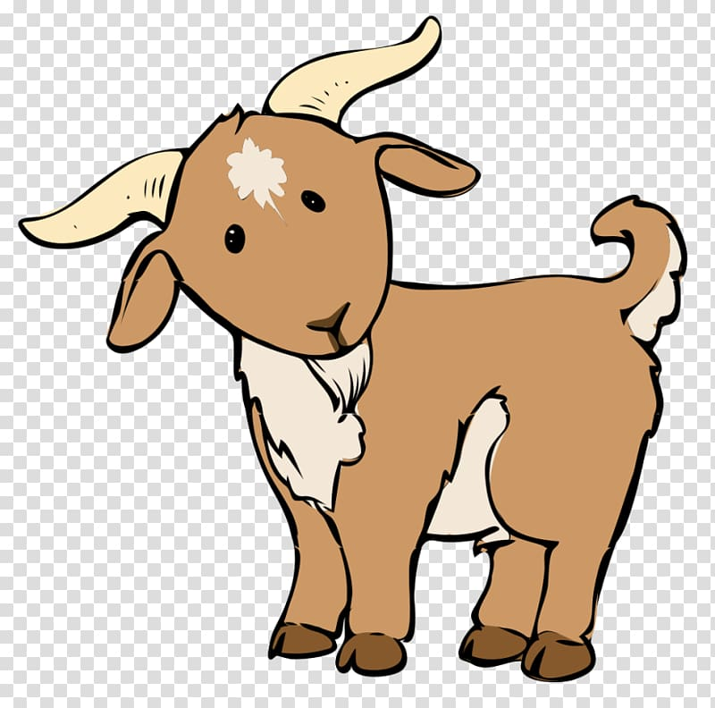 Goat Clipart transparent background PNG cliparts free.