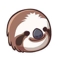 clip art free sloth.
