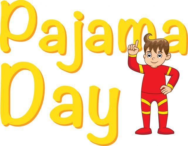 Pajama Day clip art..