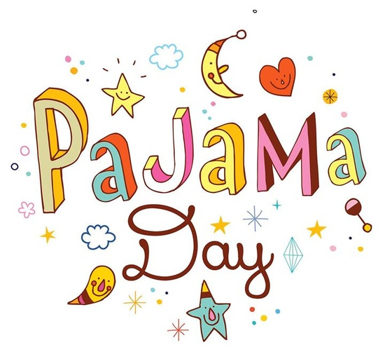 164 Pajama Day free clipart.