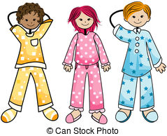 Pajamas Clip Art and Stock Illustrations. 7,099 Pajamas EPS.