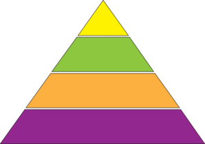 Clipart pyramid shape.