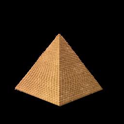 Egyptian pyramid clipart.