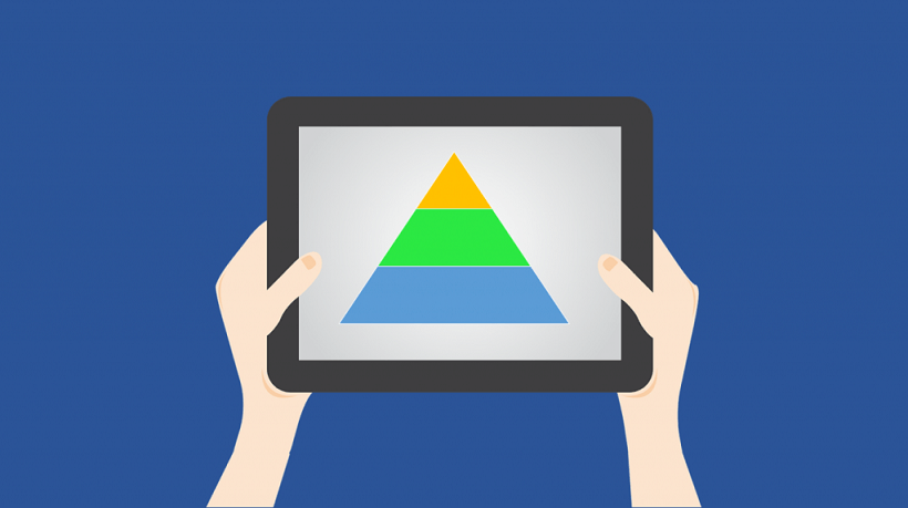 6 Steps For Designing An Interactive Pyramid With PowerPoint.