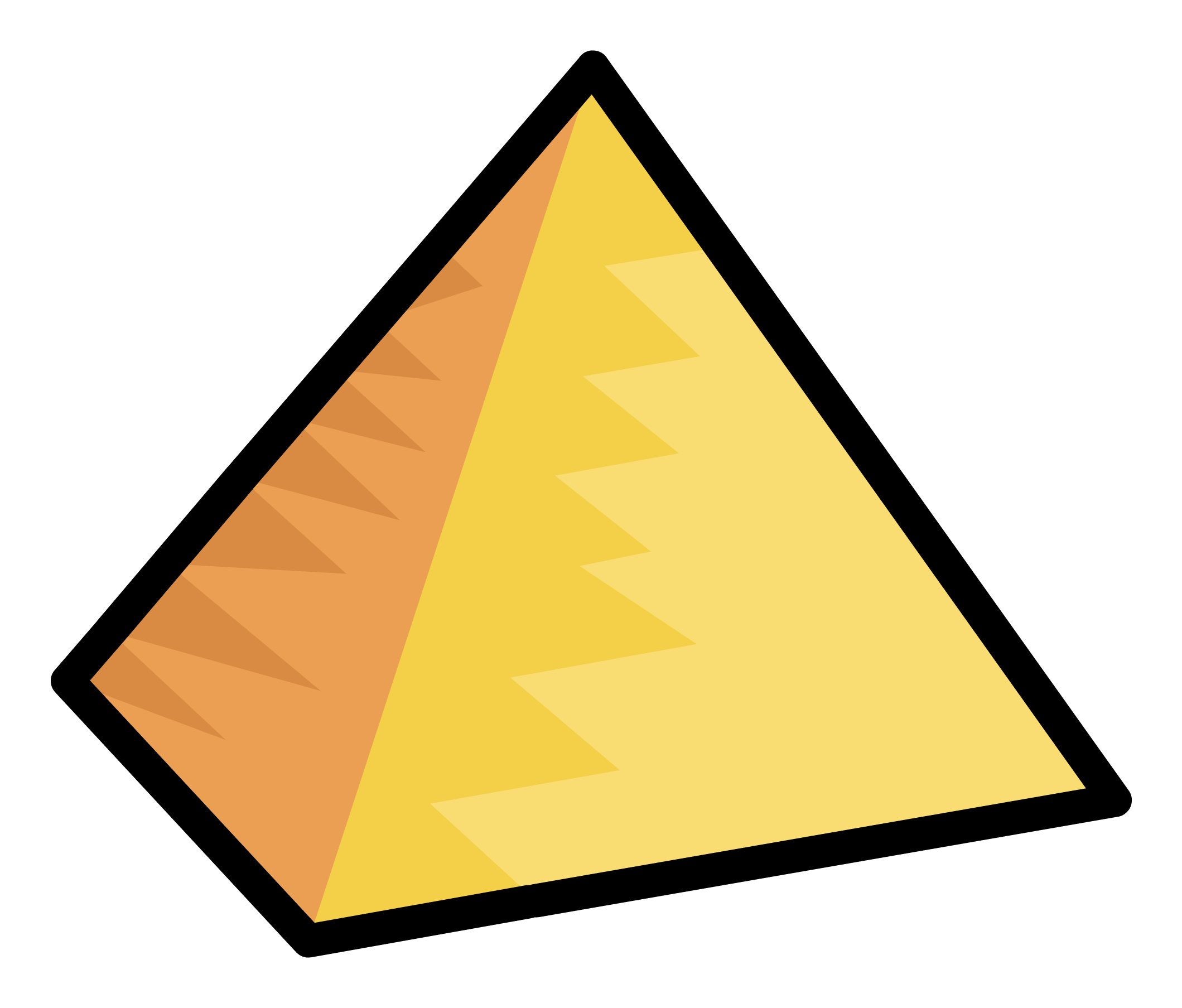 Egyptian pyramids Club Penguin The pyramid principle.