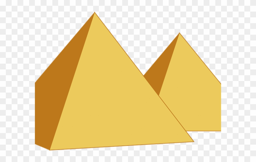 Pyramid Clipart Transparent.