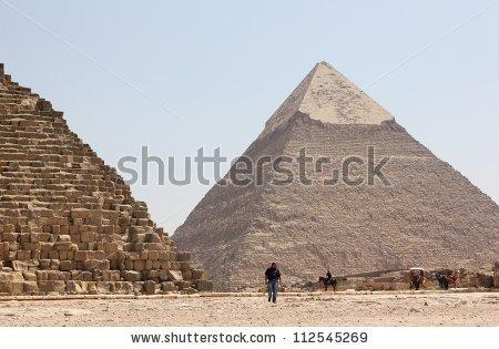 Chefren Egypt Giza Pyramid Stock Photos, Royalty.