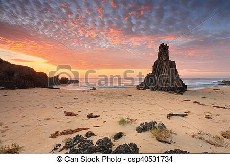 Stock Photos of Pyramid Rock Mullimburra Point South.