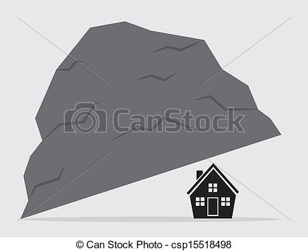 EPS Vectors of House Under Rock.