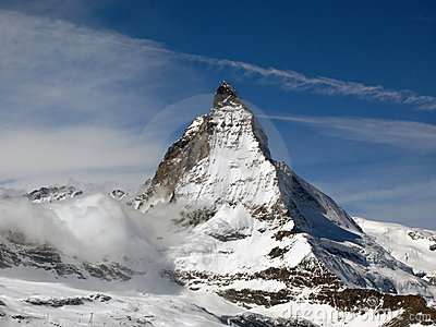 Matterhorn 3, Switzerland Stock Images.