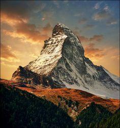 Matterhorn by İlhan Eroglu on 500px.