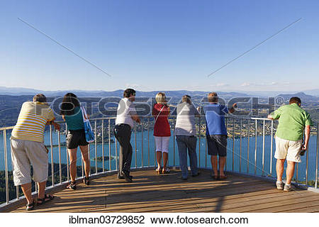 """Stock Photo of """"Viewing platform of the new lookout tower."""