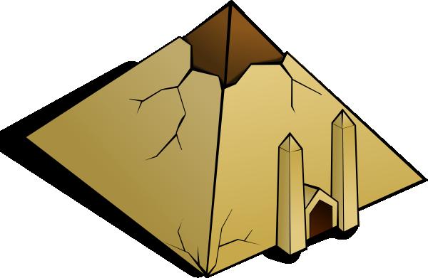 Pyramids Clipart.