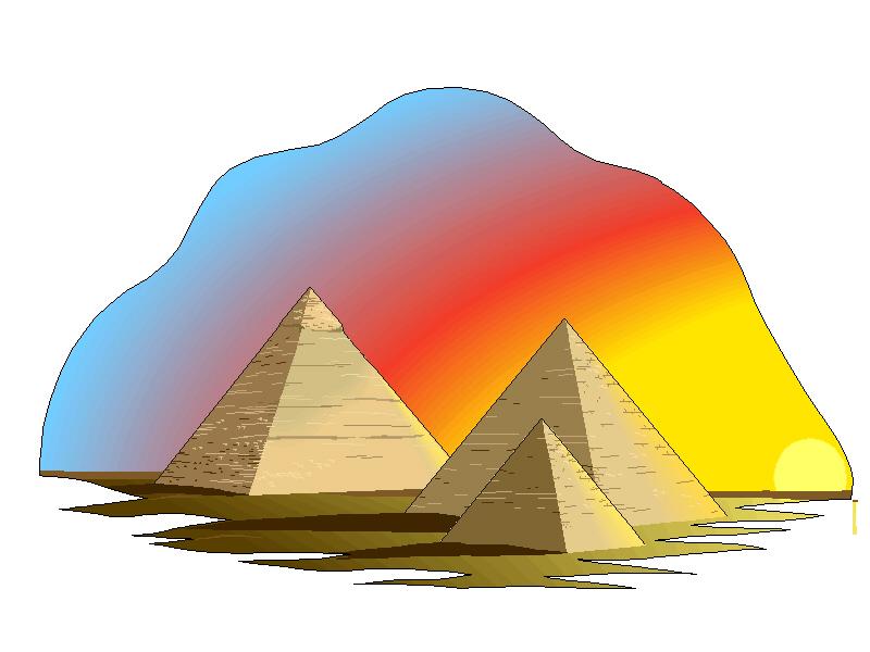 Pyramids Clip Art.3.