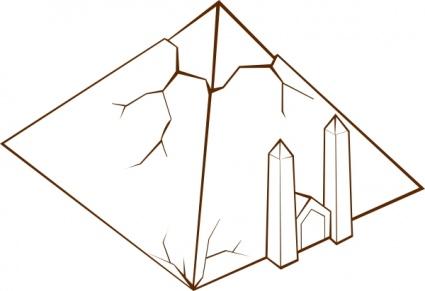 Pyramid Vector.