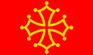 Flag Of Midi Pyrenees Clip Art at Clker.com.