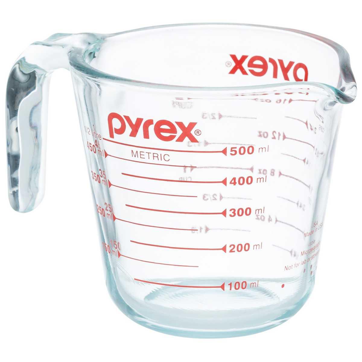 Pyrex Measuring Jug 500mL.