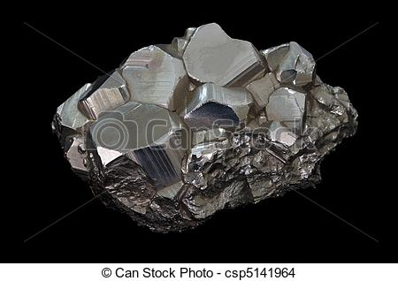 Iron Mineral Clipart.
