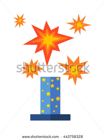 Pyrotechnics Stock Photos, Royalty.