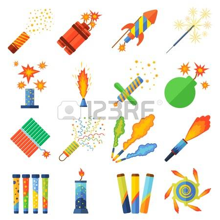4,804 Pyrotechnics Cliparts, Stock Vector And Royalty Free.