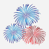 Pyrotechnic Games Clip Art.