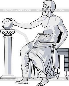 Pythagoras clipart.