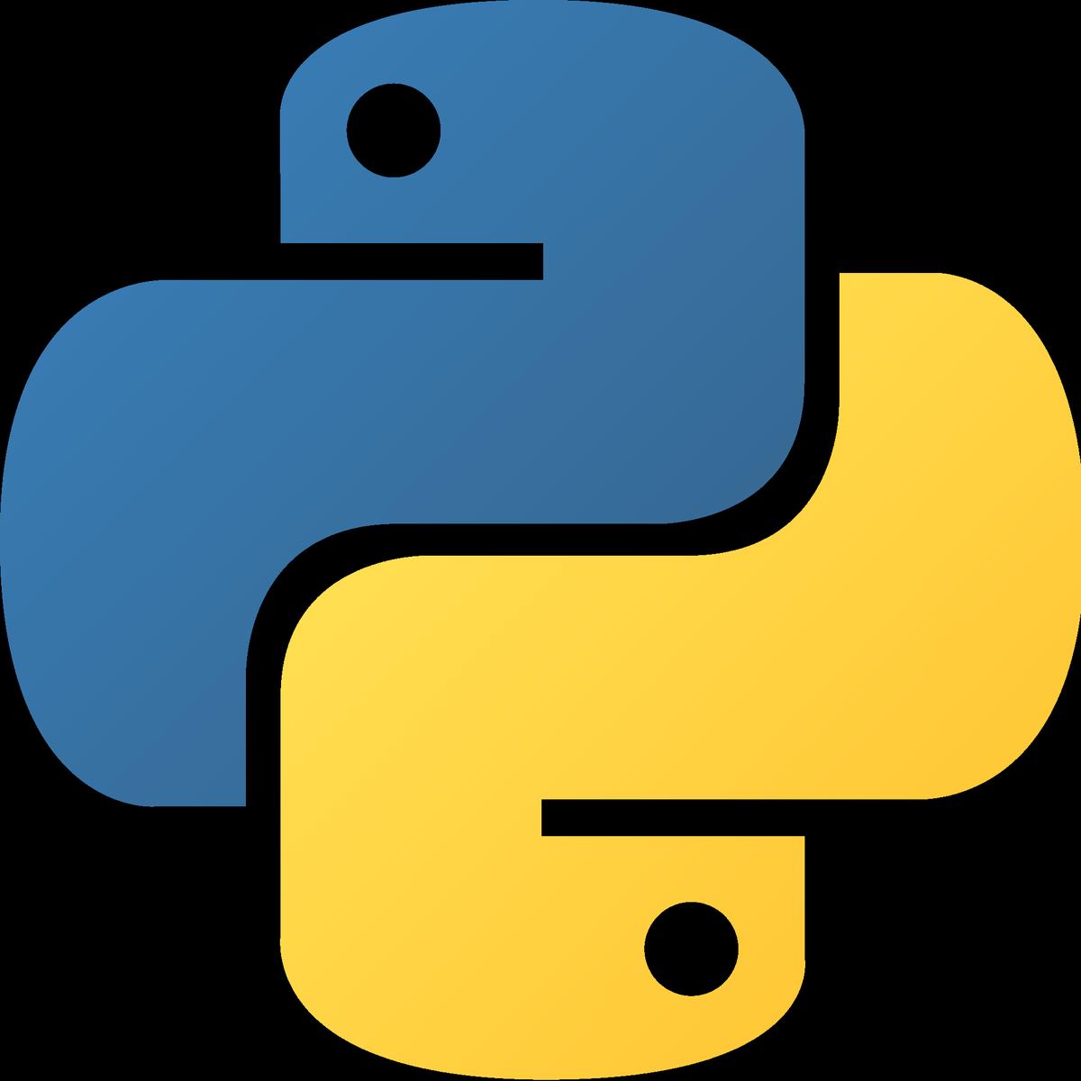 Python Logo Programmer.