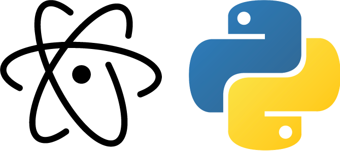 Setting up a Python Development Environment in Atom.