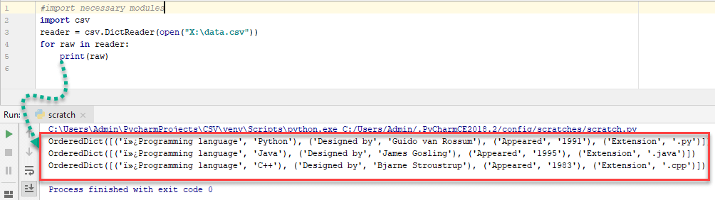 Reading and Writing CSV Files in Python using CSV Module.