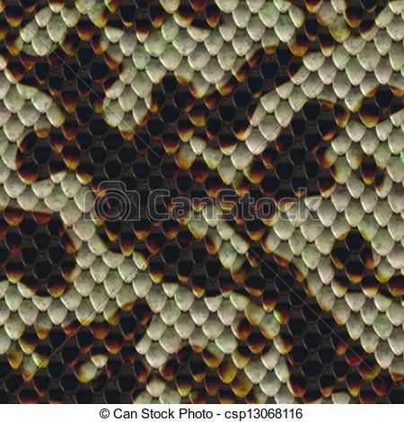Clipart of snake skin texture csp13068116.