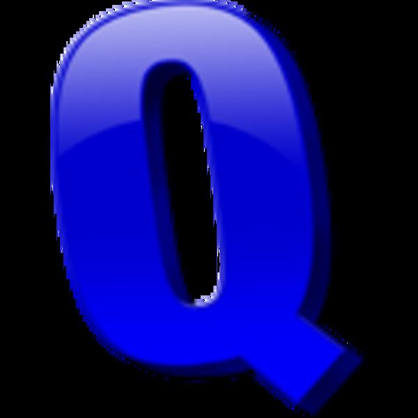 Letter Q Icon.