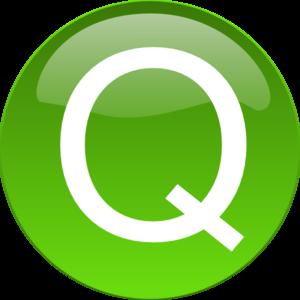 Green Q Clip Art at Clker.com.