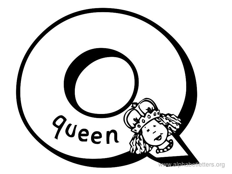 Letter q clipart black and white 5 » Clipart Portal.