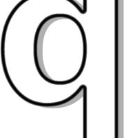 Q clipart black and white 1 » Clipart Portal.