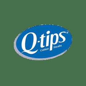 Q Tips Logo transparent PNG.