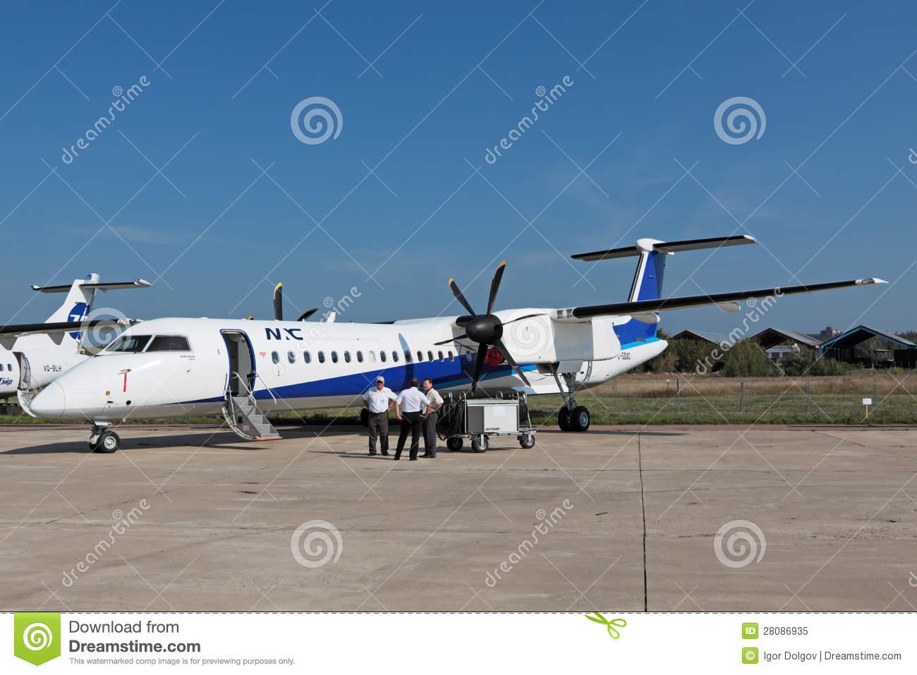 Bombardier Q400 Editorial Image.
