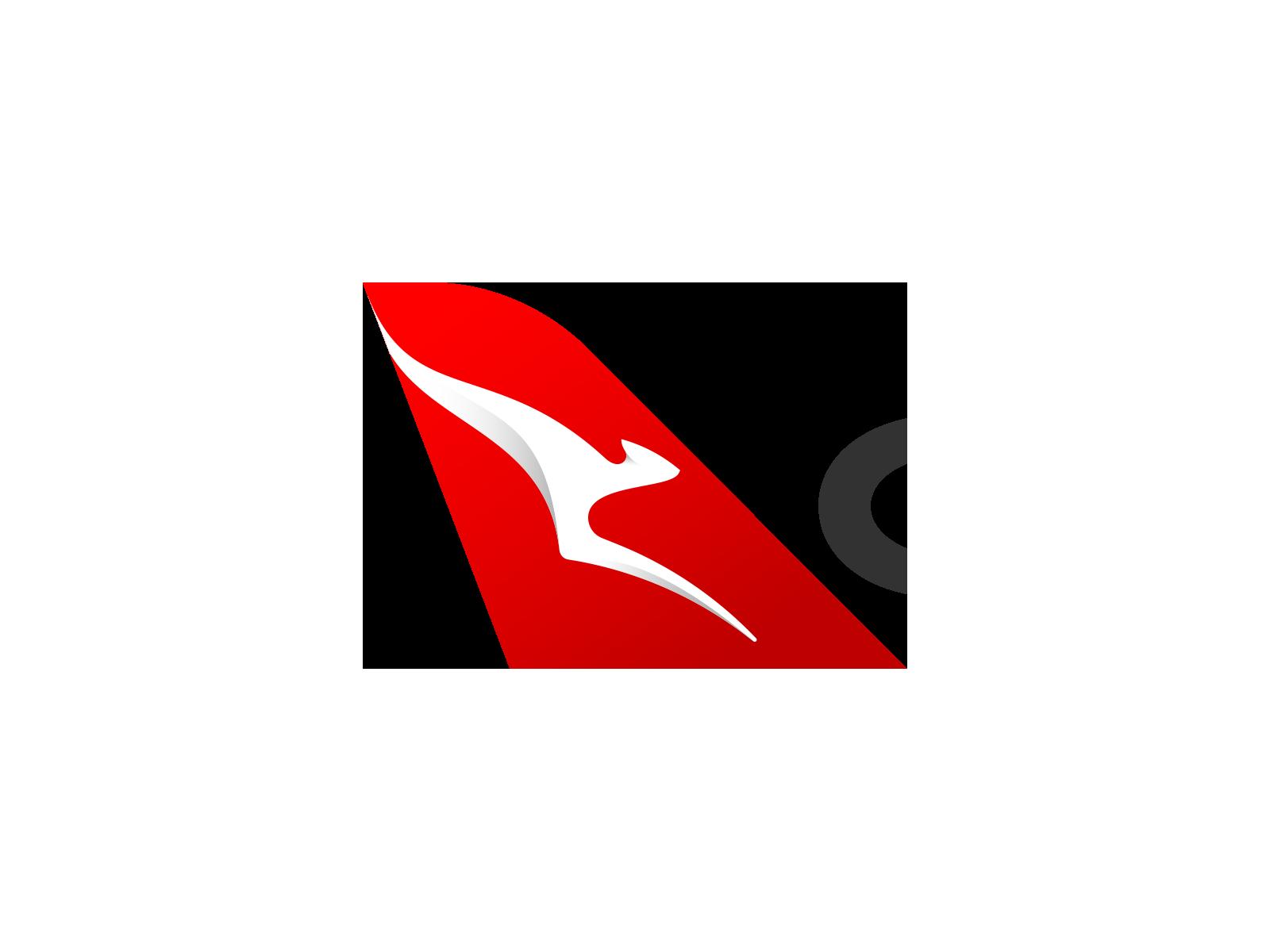 Qantas logo.