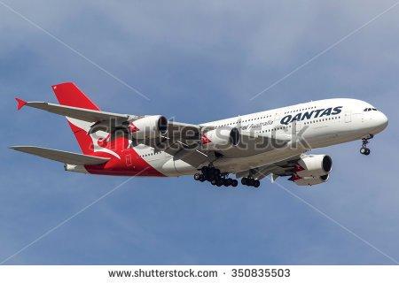 Qantas a380 clipart.
