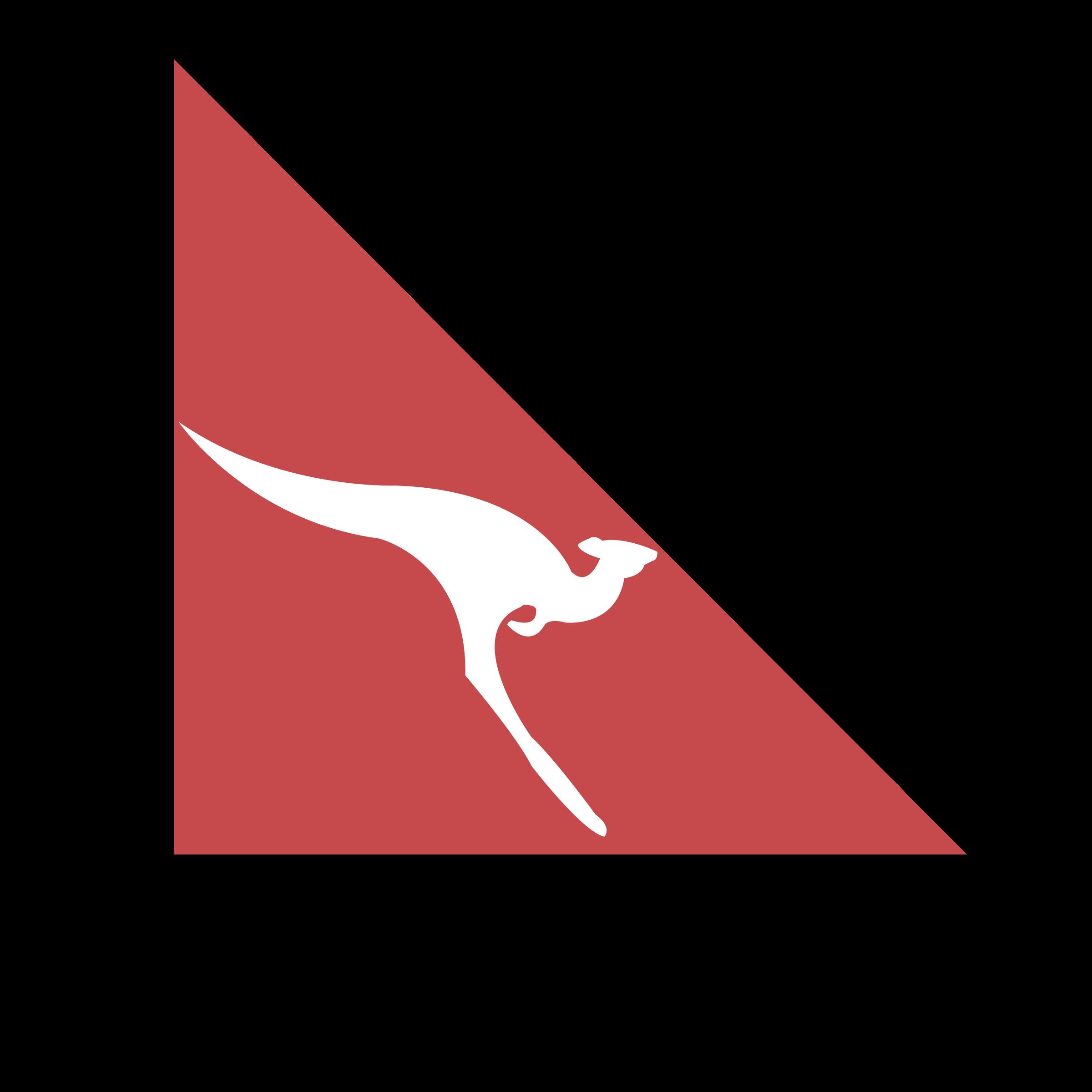 Qantas Logo PNG Transparent & SVG Vector.